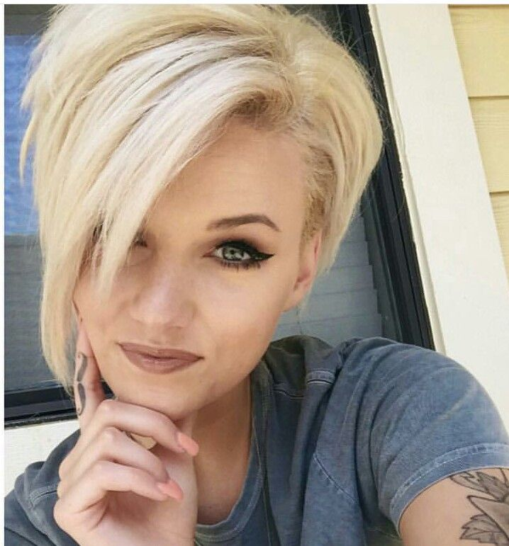 Oh How I Wish I Could Pull That Off Hair Styles Short Hair Styles Haircut For Thick Hair