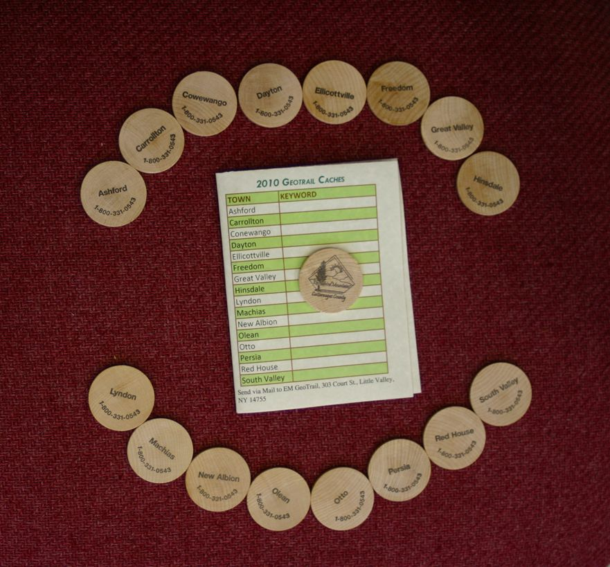2010 EMGT Wooden Nickels with pamphlet