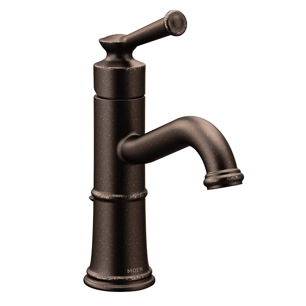 Moen 6402orb Belfield One Handle Bathroom Faucet Oil Rubbed Bronze Amazon Com Bathroom Faucets Single Hole Bathroom Faucet Single Handle Bathroom Faucet