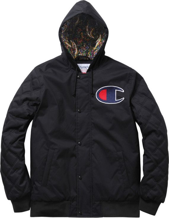 e2c36efbbe2d8 Supreme x Champion Zip-Up Jacket - Fall/Winter 2013 | Fashion ...