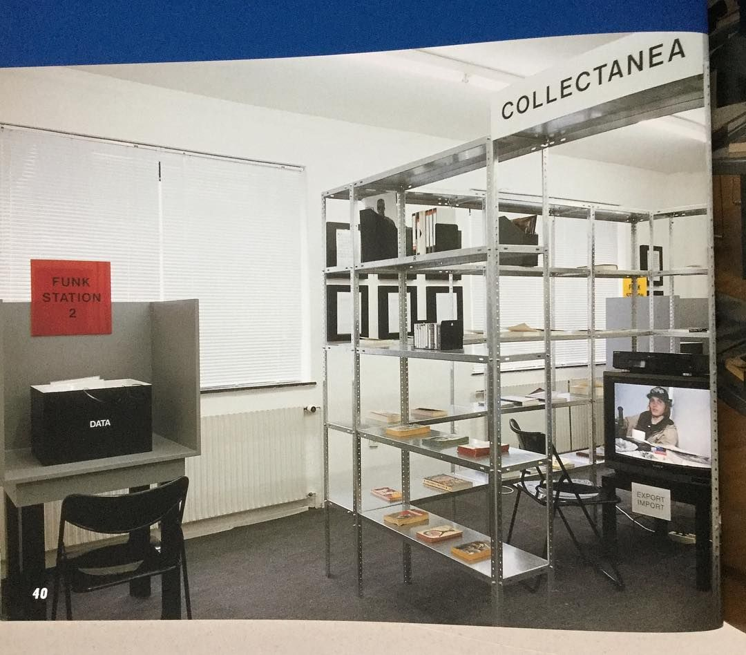 Import/Export Funk Office - 1992 installation at galerie Christian ...