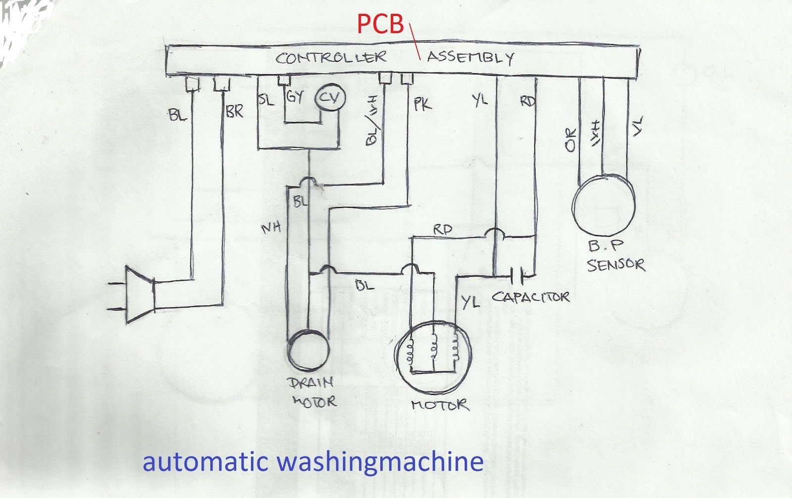 [SCHEMATICS_49CH]  Wiring Diagram Of Washing Machine Timer - bookingritzcarlton.info | Washing  machine, Automatic washing machine, Washing machine repair | Wiring Diagram Of Washing Machine Timer |  | Pinterest