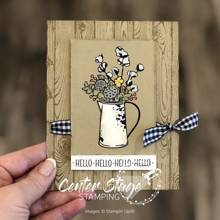 Welcome to another Stamp Review Crew blog hop! Today, we are shining a spotlight on the fabulous set Country Home from the 2018 Holiday Catalog. Rustic farmhouse style is very hot right now and this set is totally on trend! It is full of fantastic images and great sentiments. Make sure you check out all of the stops in this blog hop - you wouldn't want to miss all the awesome inspiration! This set isn't really my usual style. I'll admit I stared at it for quite awhile bef