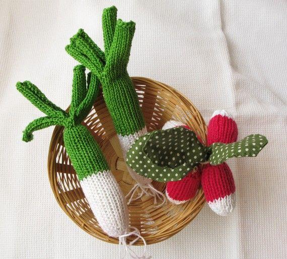 Happy handmade veggies by dents de loup #kids #handmade #toys