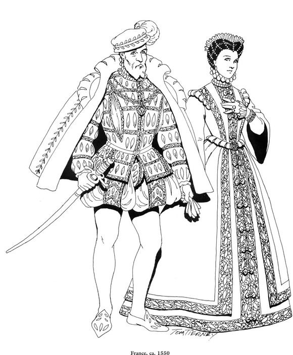 coloring pages for the renaissance - photo#20