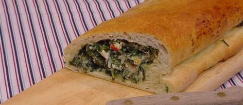 Spinach Feta Sandwich Roll