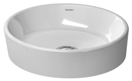Starck 2 Aufsatzbecken 440x400 Mm Duravit Badezimmer Waschbecken