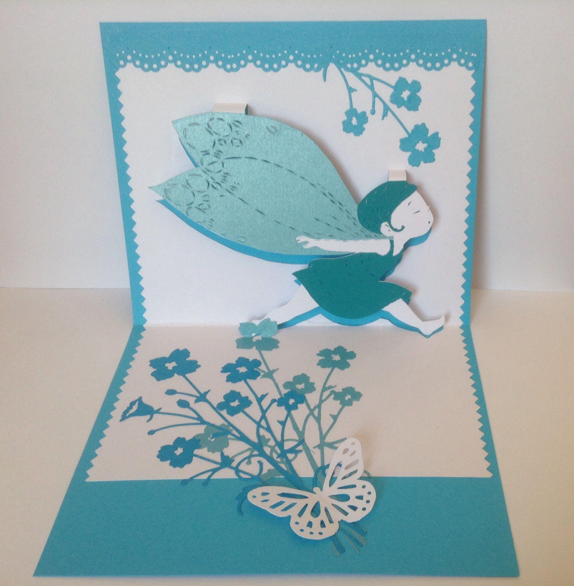 kirigami papillon carte anniversaire ou de f licitations mod le papillon kirigami the. Black Bedroom Furniture Sets. Home Design Ideas