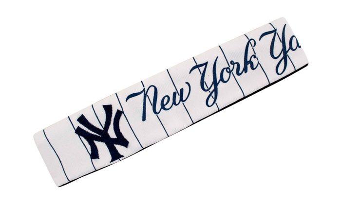 MLB Sports Team Logo Jersey Headband