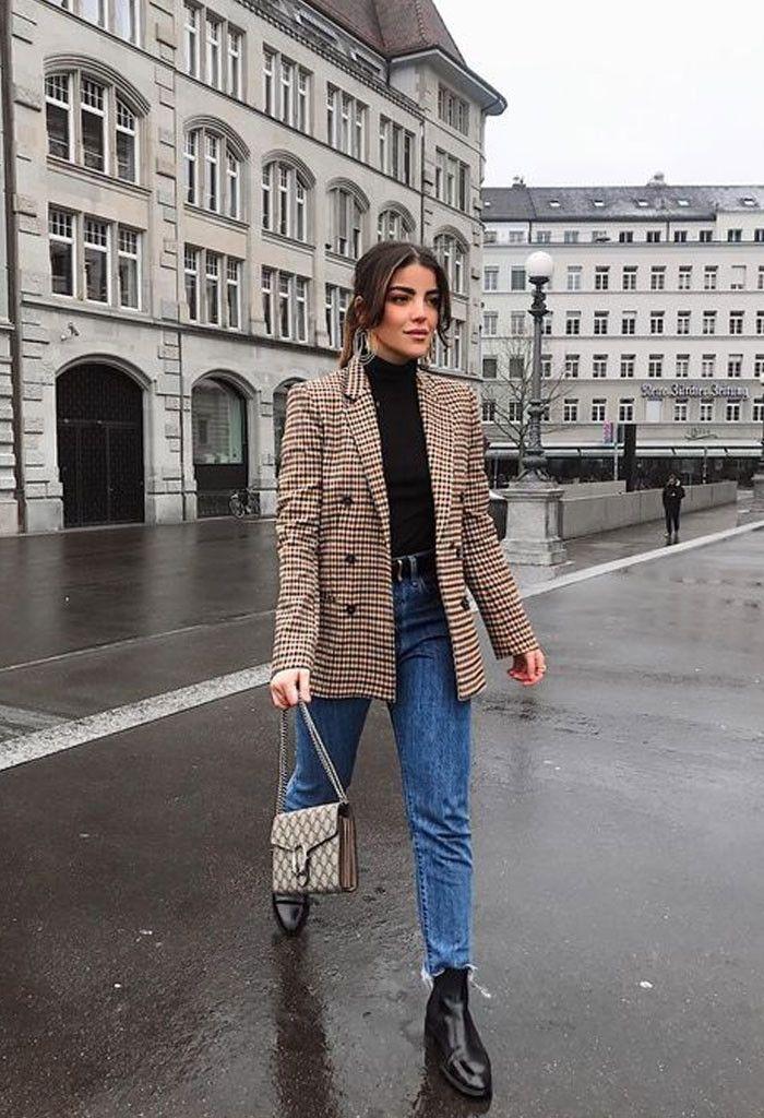18 looks de inverno com calça jeans: para inspirar e copiar sem medo #businesscasualoutfits