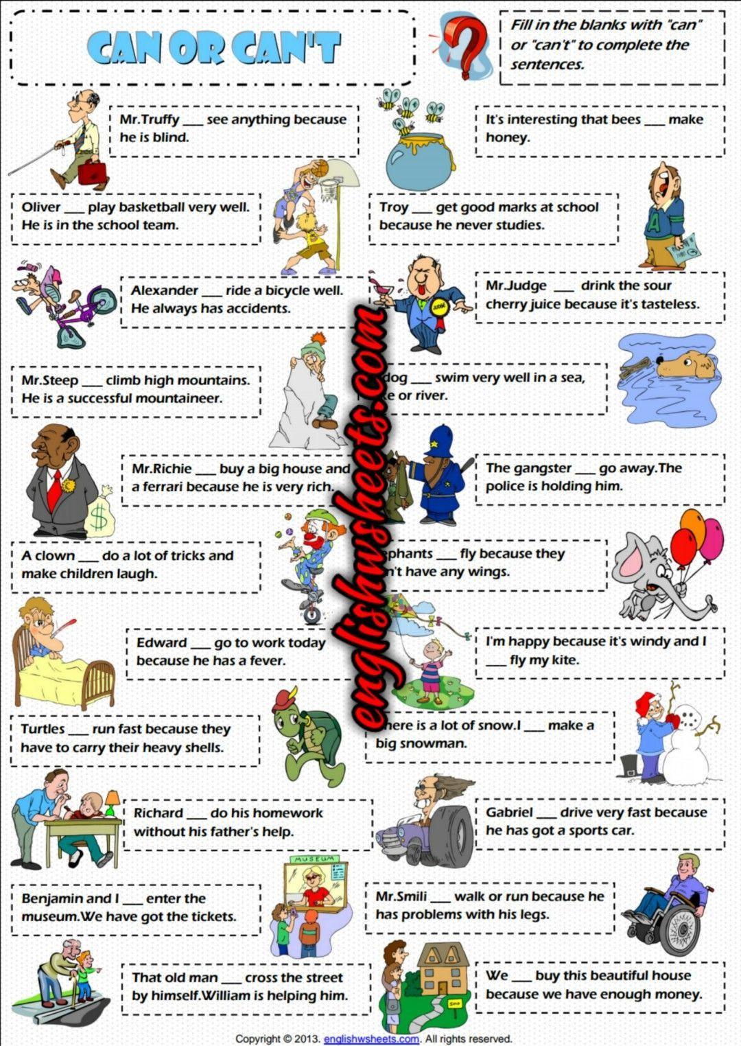 13 Nouns And Verbs Worksheets Preschool Esl Worksheets Kids