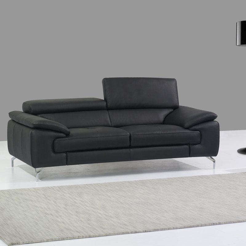 Twining Italian Leather Sofa Reviews Allmodern Italian Leather Sofa Leather Sofa Cheap Leather Sofas