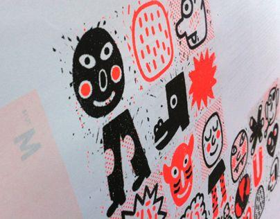 Ознакомьтесь с этим проектом @Behance: «Poster Master Diseño e Ilustración UPV» https://www.behance.net/gallery/10481681/Poster-Master-Diseno-e-Ilustracion-UPV