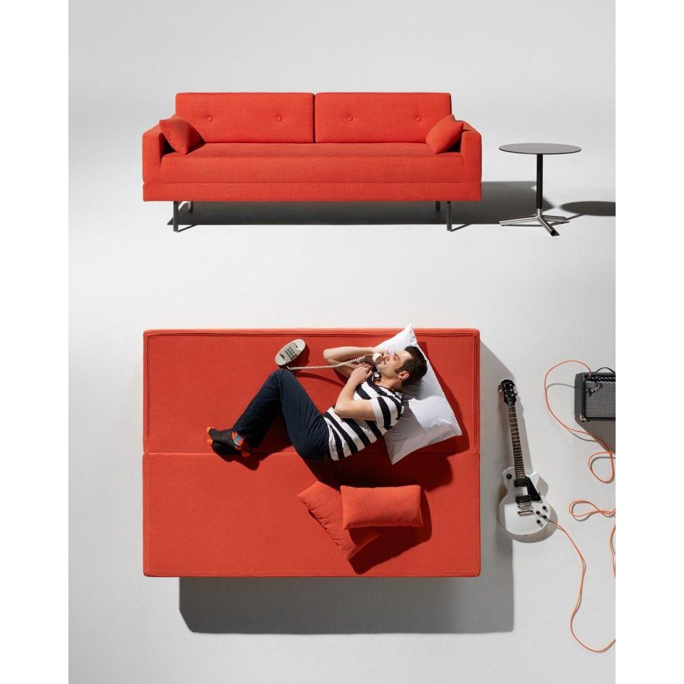 One Night Stand Sleeper Sofa Modern Bed Blu Dot