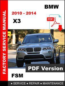 a bmw x3 2010 2011 2012 2013 2014 shop service repair manual wiring rh pinterest com