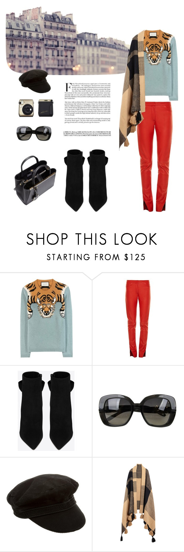 """: Lazy Day"" by chrismay-468 on Polyvore featuring Gucci, Loewe, Yves Saint Laurent, Bottega Veneta, Apiece Apart and Fendi"