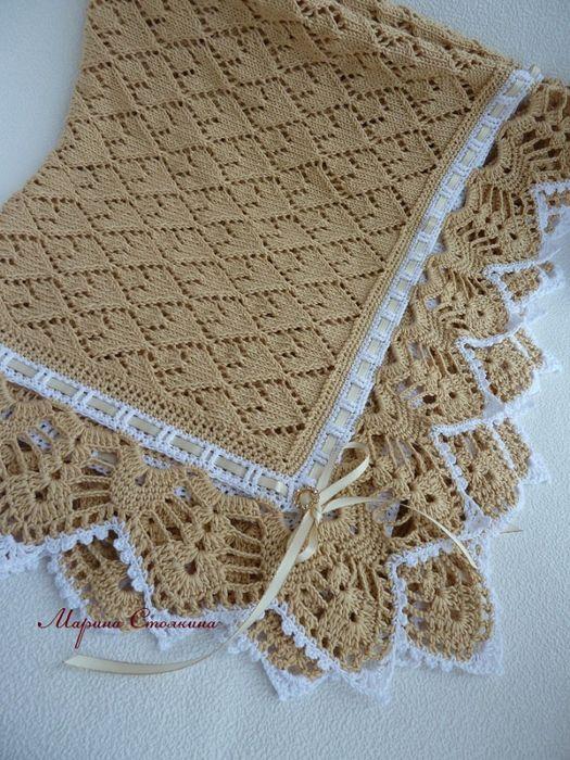 Bellissima Copertina Lavorata Ai Ferri Afghans Ck Baby Blanket
