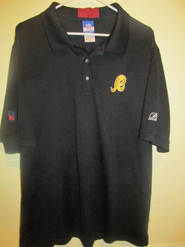 reebok polo shirts black