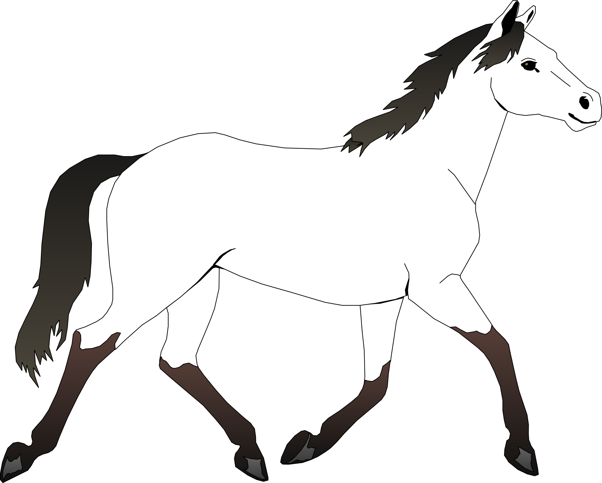 Luxury Coloring Pages Of Horses 40 Horse Coloring Page