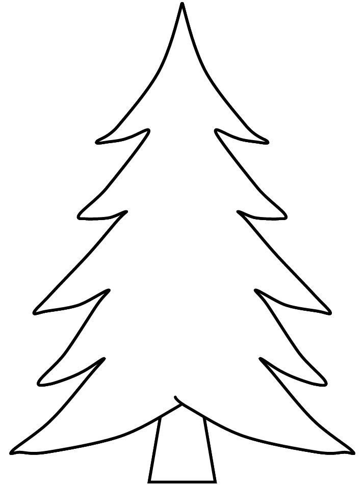 Christmas trees printable coloring pages Best Coloring Pages - best of coloring pages for a christmas tree