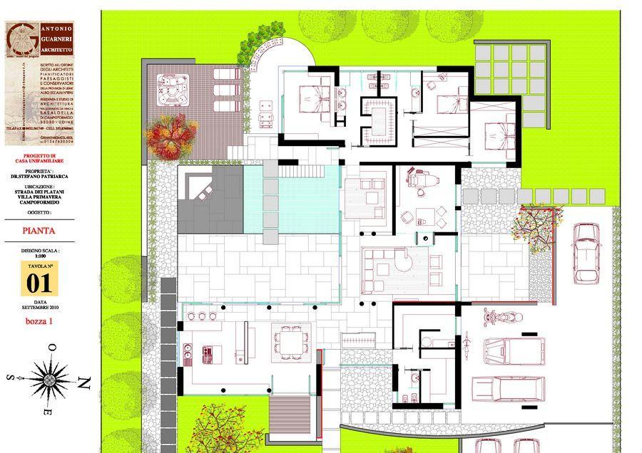 Piante di ville moderne cool piante photoshop cerca con for Villette moderne progetti