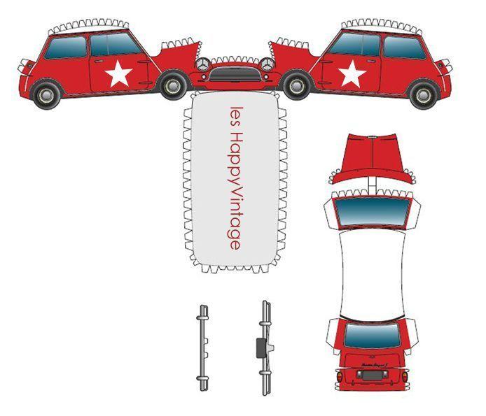 minicut mini voiture pinterest bastelbogen autos und motorr der und autos. Black Bedroom Furniture Sets. Home Design Ideas