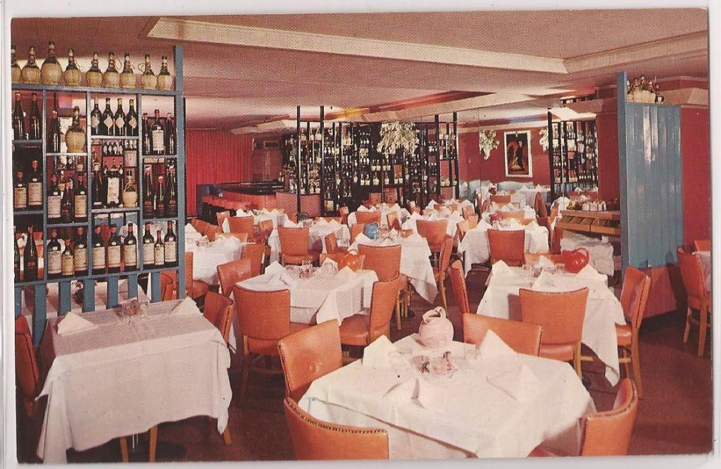 Marthas Italian Restaurant New York Ny 1950s Vintage Ultra