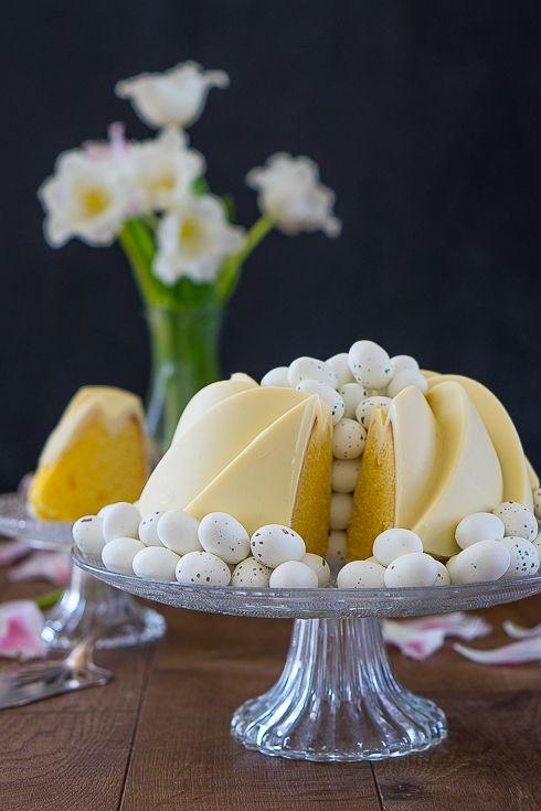 Zitronen Buttermilch Gulgelhupf Gaumenpoesie Rezept Desserts Ostern Susse Backerei Dessert Ideen