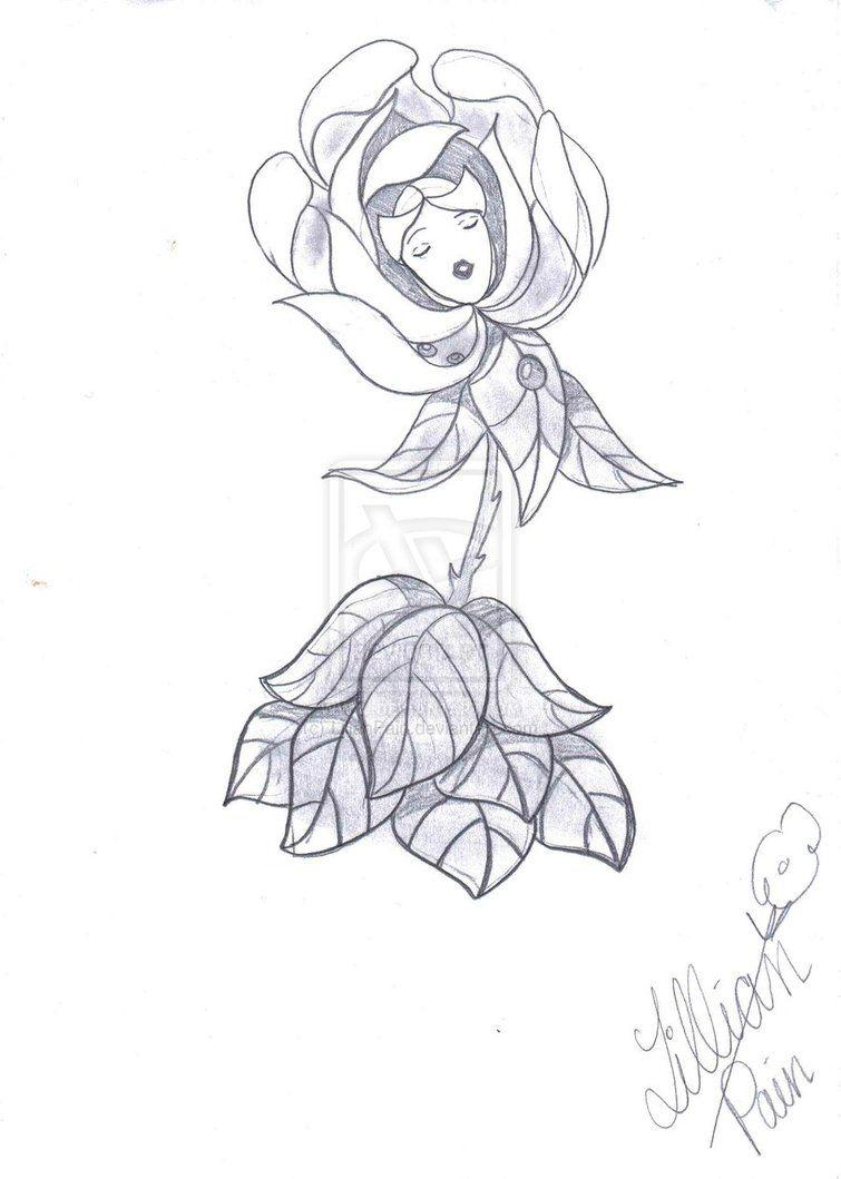 Talking Flower Flower Drawing Alice In Wonderland Flowers Alice In Wonderland Drawings
