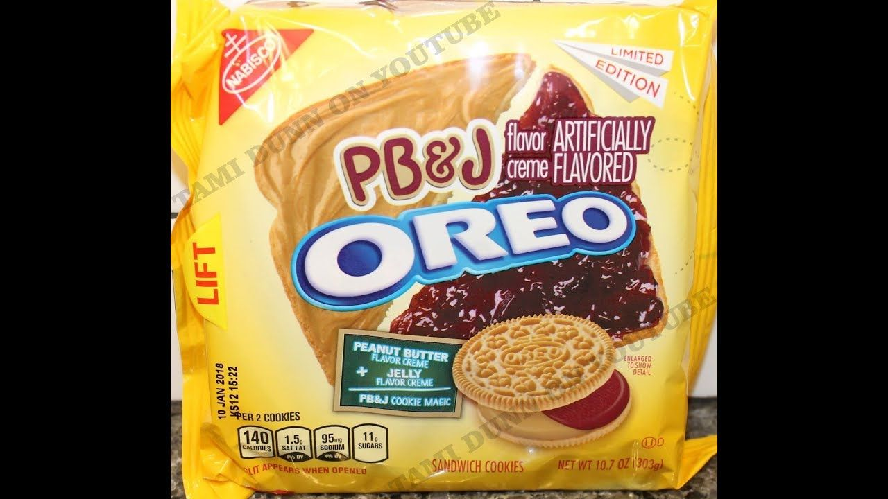PB&J Oreo Cookie Review + GIVEAWAY youtube friends and