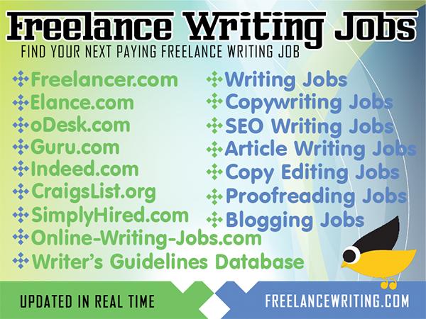 Freelance Writing Jobs http://www.freelancewriting.com/freelance ...