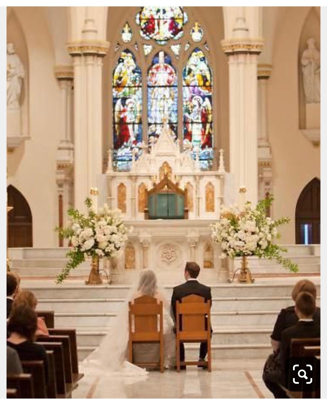 Pin By Katie Blessing On Wedding Flowers Wedding Church Decor Church Wedding Decorations Church Wedding Ceremony
