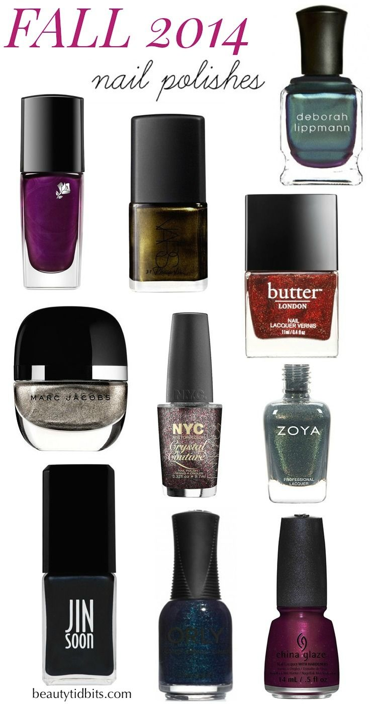 10 Hot New Nail Polish Colors for Fall 2014 | Nail polish colors ...