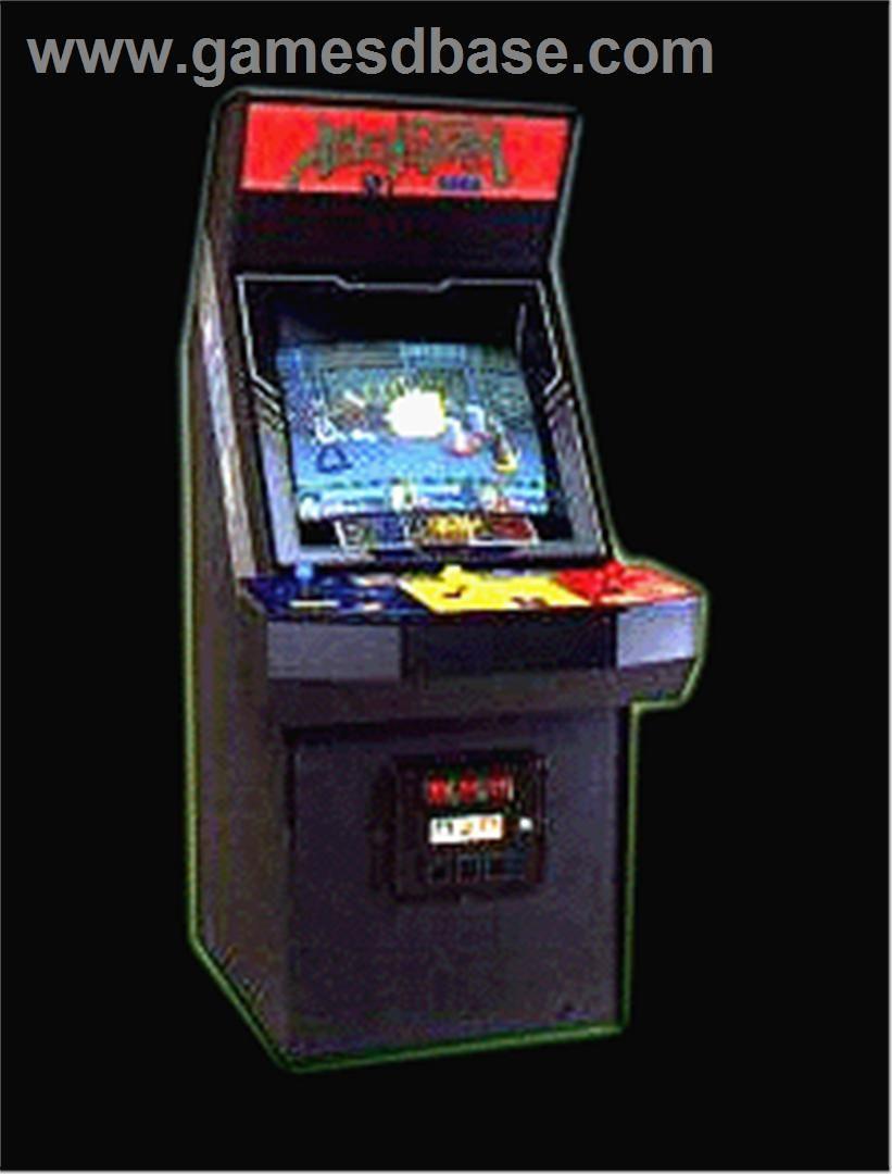 alien storm arcade cabinet - Google Search   beat em up arcade ...