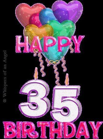 Happy 35th Birthday My Children Grandchildren Happy 35th
