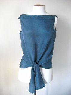El acabado Deco Echo blusa
