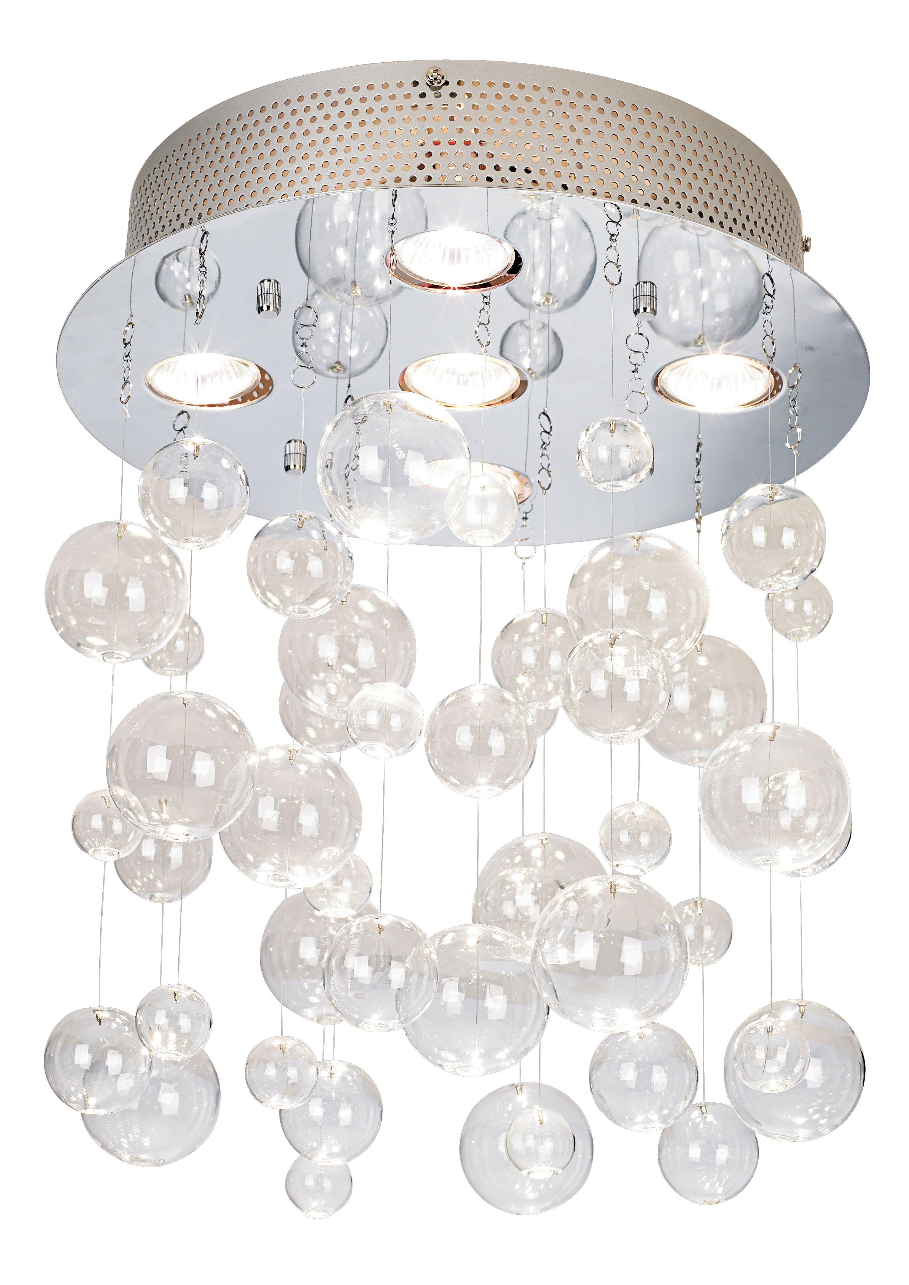Possini euro chrome clear glass bubbles ceiling light possini euro chrome clear glass bubbles ceiling light eurostylelighting i waaaant this arubaitofo Choice Image