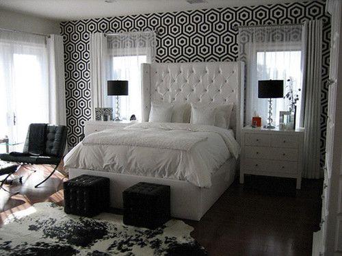 Bedroom Layout Dresser Side Tables In