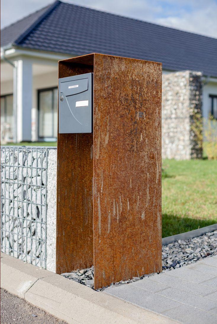 nouveau support en acier pour la boite lettre 841. Black Bedroom Furniture Sets. Home Design Ideas