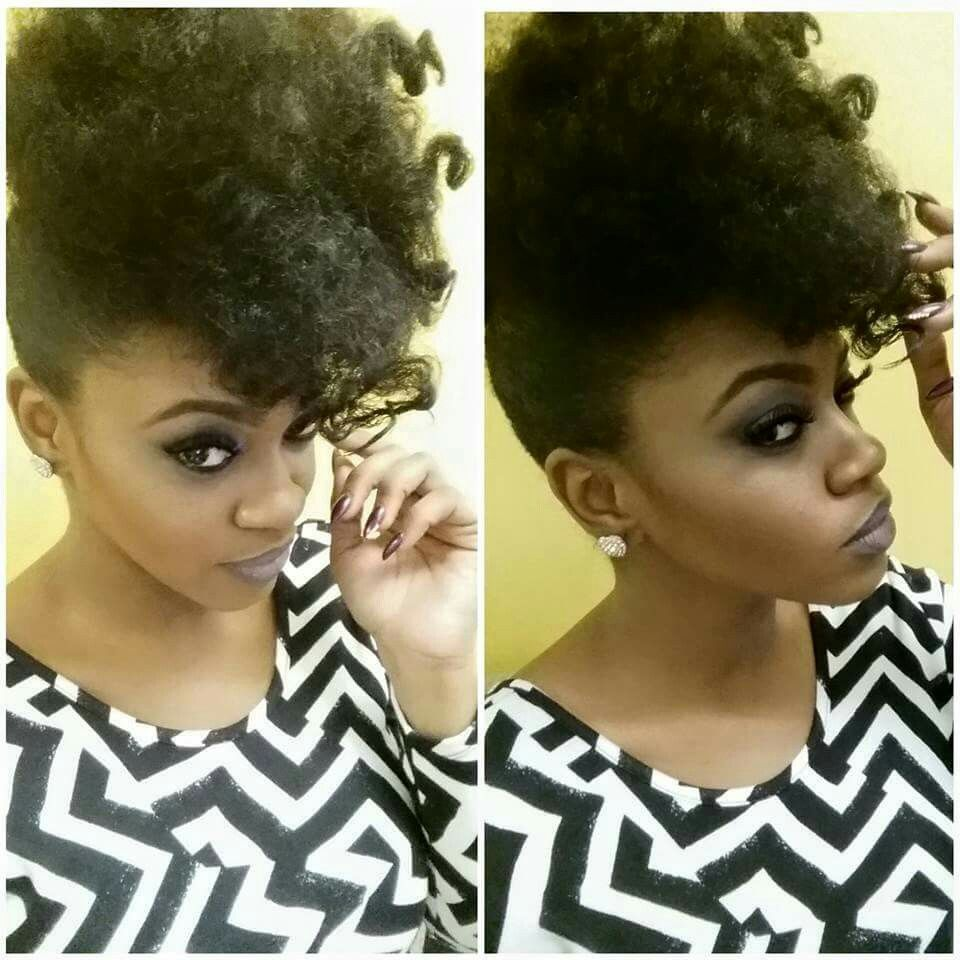 Bantu knot out pin up droolworthy curly girls pinterest bantu