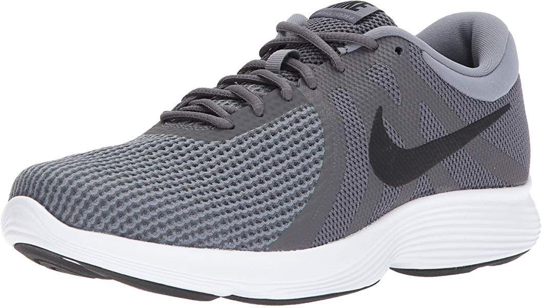 selva Shetland polilla  Amazon.com: Zapatillas para correr de hombre NIKE Revolution 4, Gris, 10.5  D(M) US: Shoes | Running shoes for men, Nike, Nike men