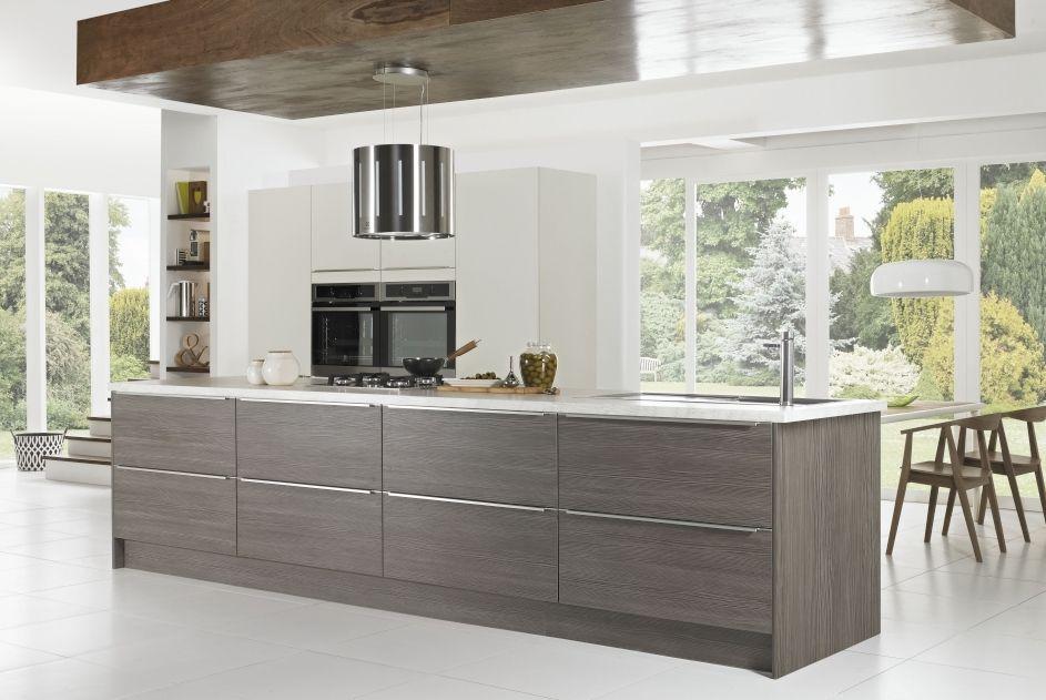 European Style Wood Kitchen Furniture Laminate Modular Kitchen