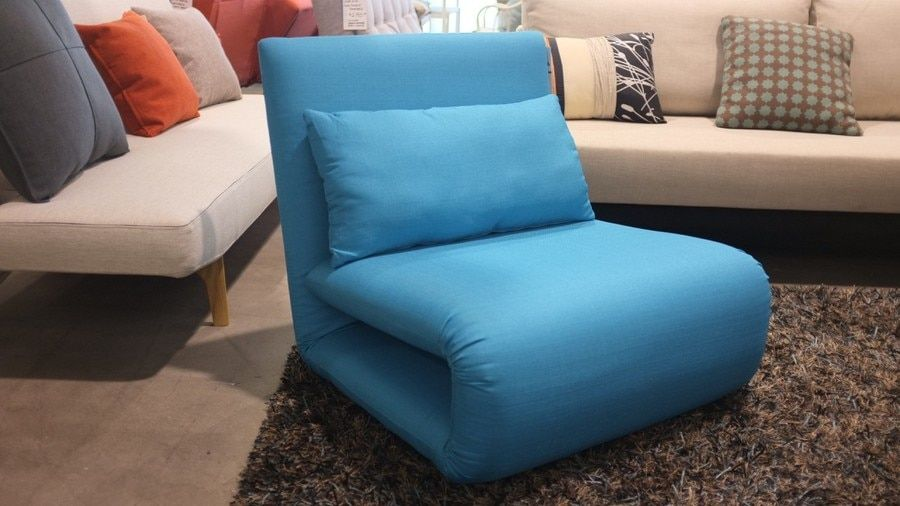 Tri Fold Single Sofa Bed In Blue Sofa Beds Nz Single Sofa Chair Single Sofa Bed Chair Single Sofa Bed