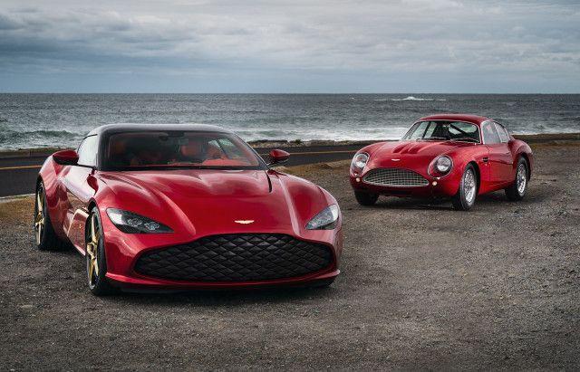 Aston Martin DBS GT Zagato and DB4 GT Zagato continuation car