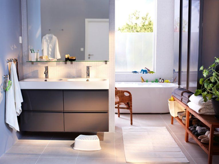 Ikea Badkamer Bovenkast : Ikea bathroom this is the vanity and storage units i want for
