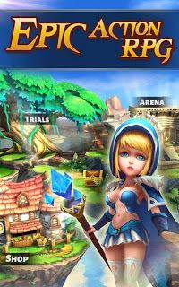 Heroes & Titans Battle Arena Android game Apk + OBB v1 3 0