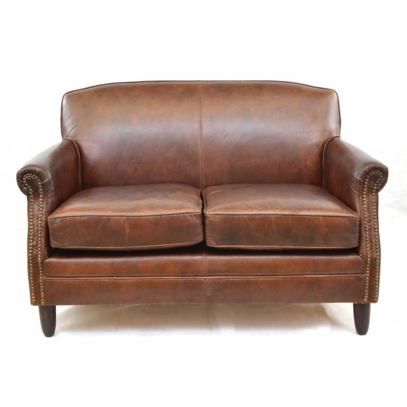 Free Shipping On This Vintage Brown Leather Sofa Soft And Subtle