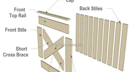 Barn Door Gate Made From Pallets Pallet Projects Pinterest
