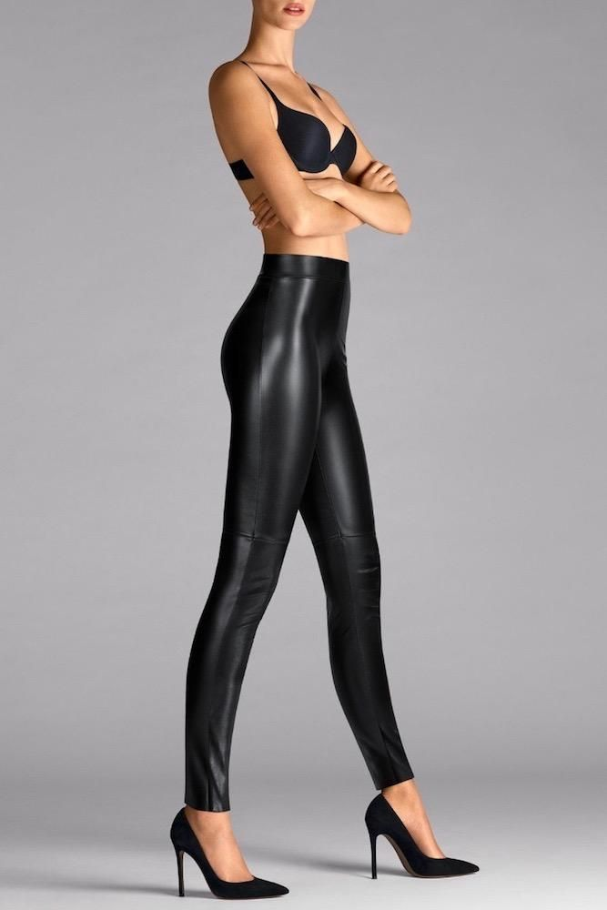 ab0cd93ceecdb Wolford Estella Faux Leather Leggings | Leggings | Leather leggings ...