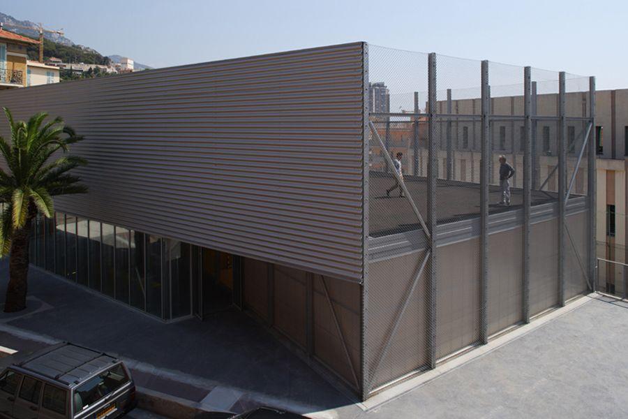 Cab Architectes Moneghetti Sports Center In Beausoleil Cab